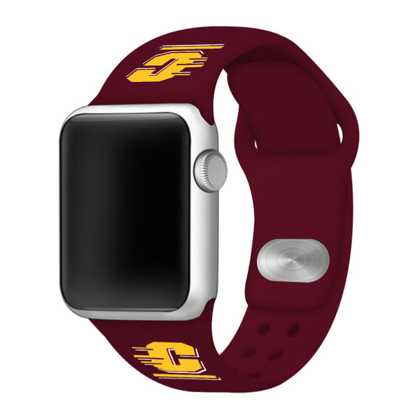 Central Michigan Chippewas Sport Band for Apple Watch - DealsAmazingDeals.com