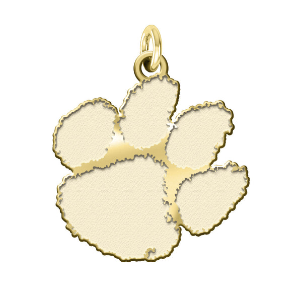 Clemson Tigers 14KT Yellow Gold Charm - DealsAmazingDeals.com