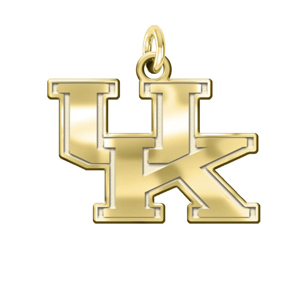 Kentucky Wildcats 14KT Gold Charm