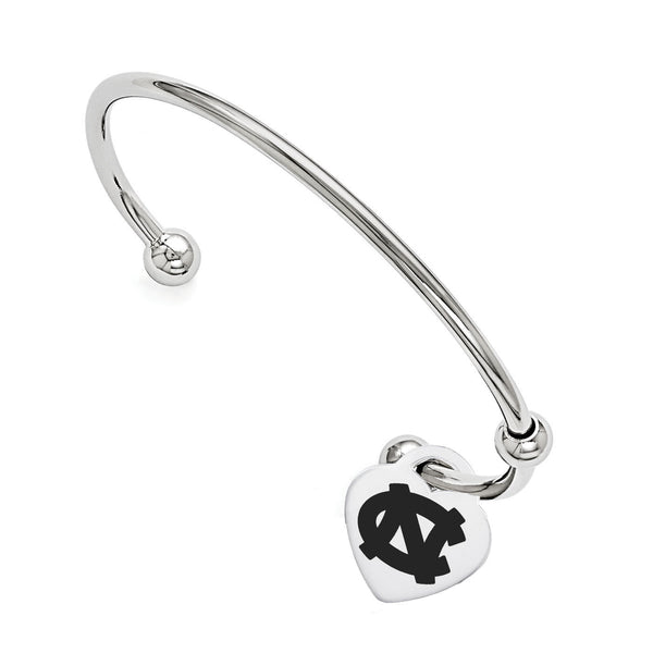 North Carolina Tar Heels Cuff Bracelet
