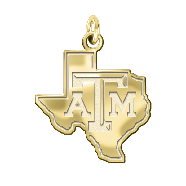 Texas A&M Aggies 14KT Gold Charm