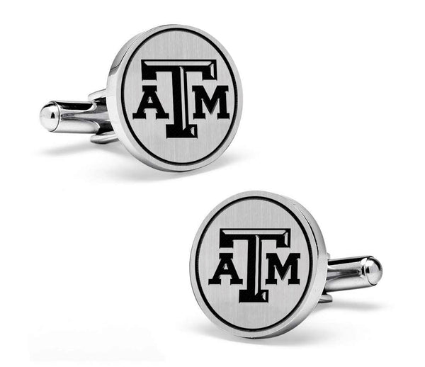 Texas A&M Aggies Cufflinks | Sterling Silver