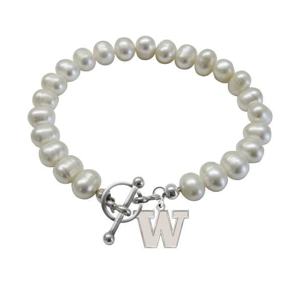 Washington Huskies Freshwater Pearl Bracelet