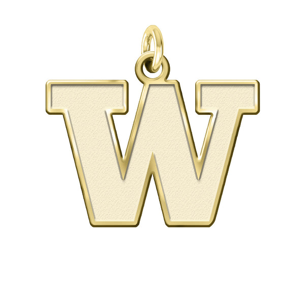 Washington Huskies 14KT Gold Charm