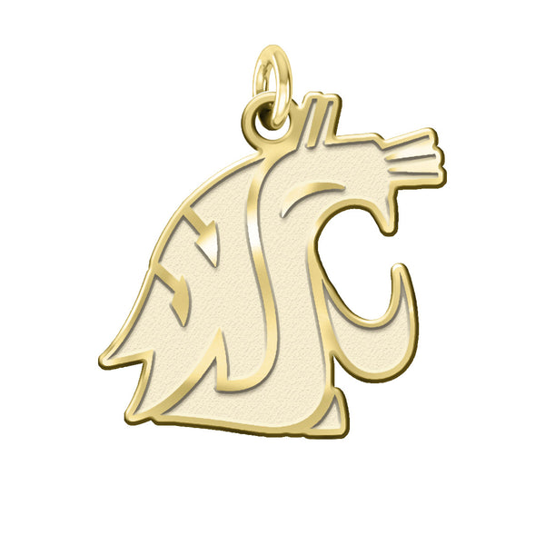 Washington State Cougars 14KT Gold Charm - DealsAmazingDeals.com