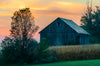 A Barn at Dawn