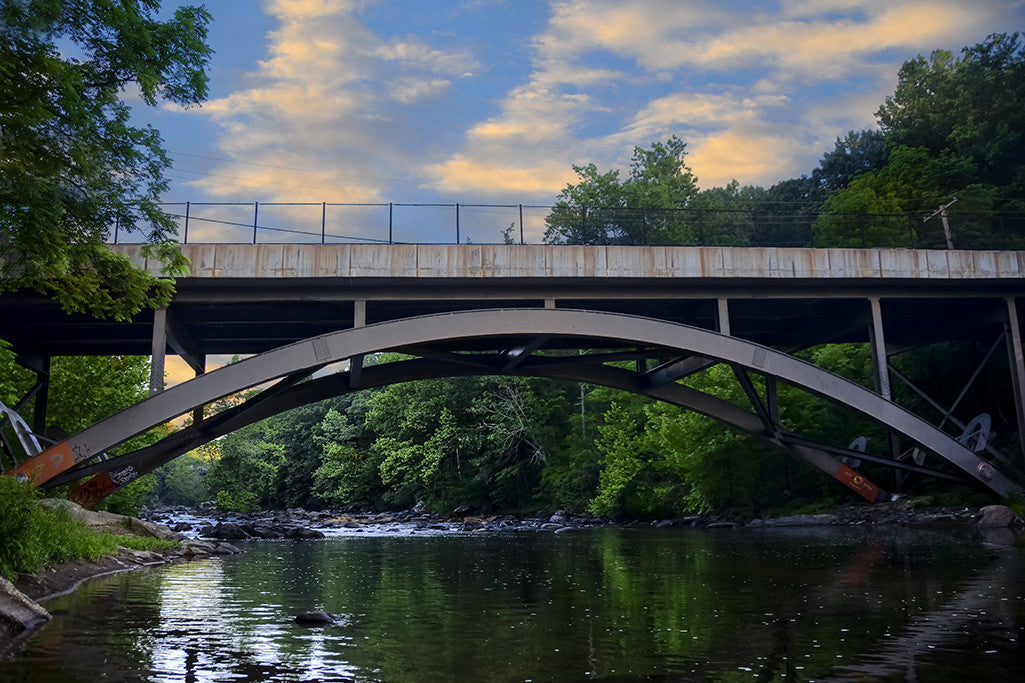 The  Gunpowder Falls Bridge on Philadelphia Road in Baltimore County, Maryland.