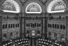 The main viewing room of the Library of Congress.
