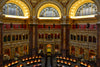 The Library of Congress Reading Room is shown in this fine art photograph.