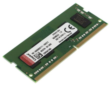 MEMORIA RAM KINGSTON 8GB DDR4 SODIMM 2400MHz / PC4-19200