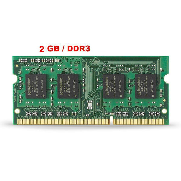 MEMORIA RAM USADA 2GB DDR3 PC3-8500 / PC3-10600 / PC3-12800 P/LAPTOP