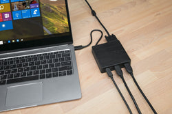 DOCKING TARGUS PARA LAPTOP USB-C TIPO-C TYPE-C DOCK412USZ-50