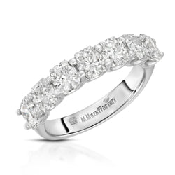 Seven Diamond Cushion Band