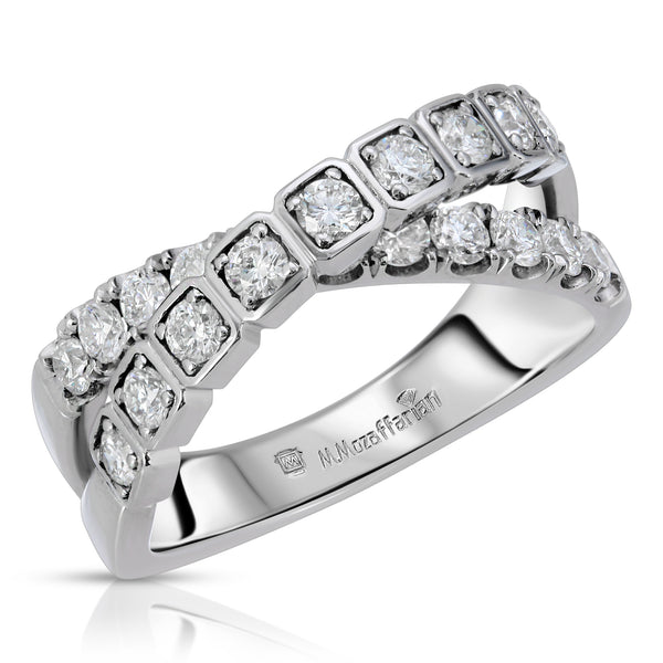 Criss Cross Diamond Band