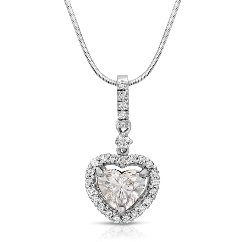 Halo + Heart Pendent