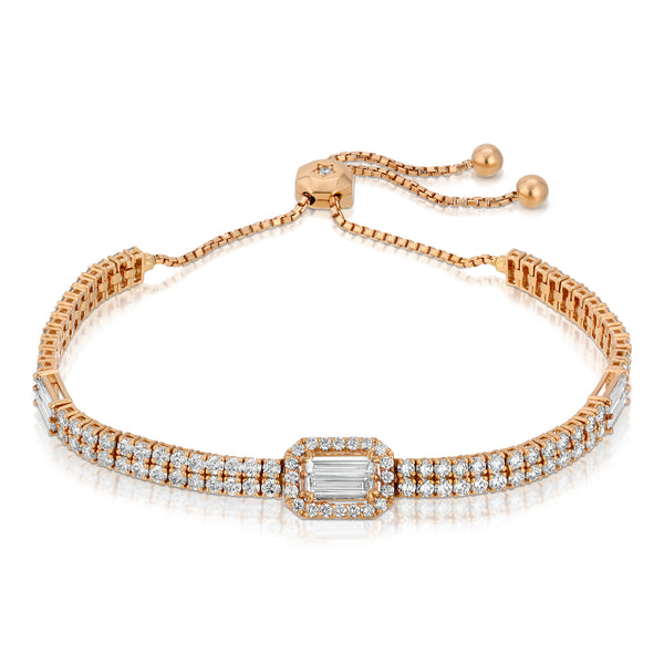 Adjustable Rose Gold Bracelet