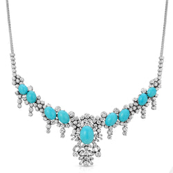 Estate Turquoise Necklace