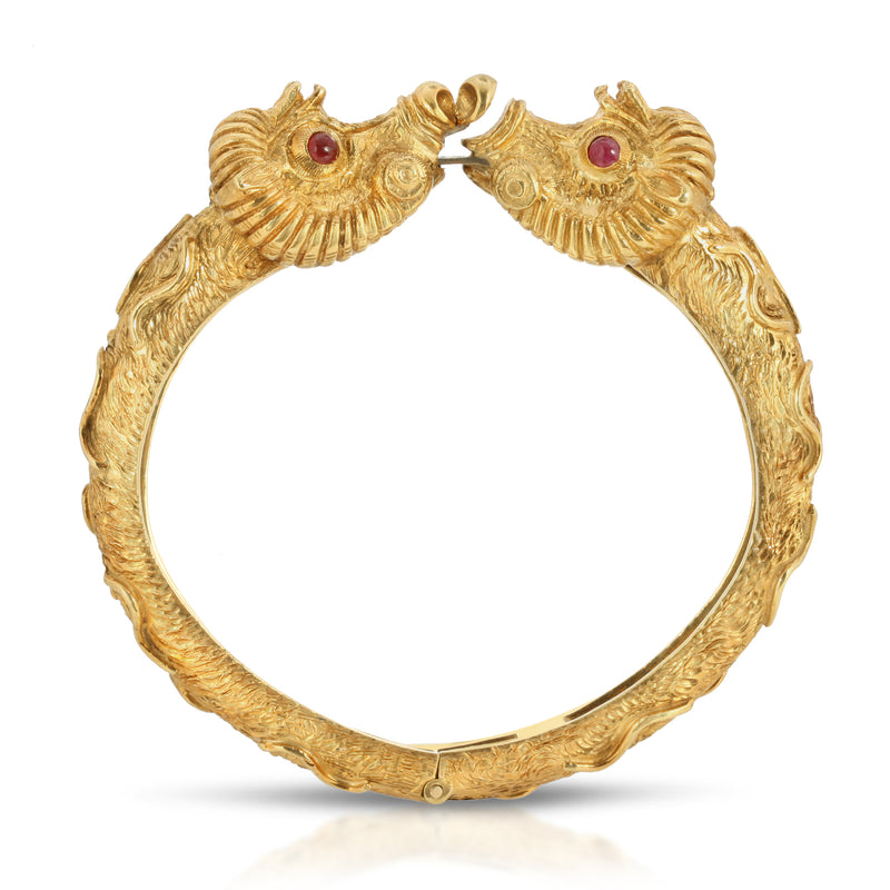 Estate Golden Calf Bracelet