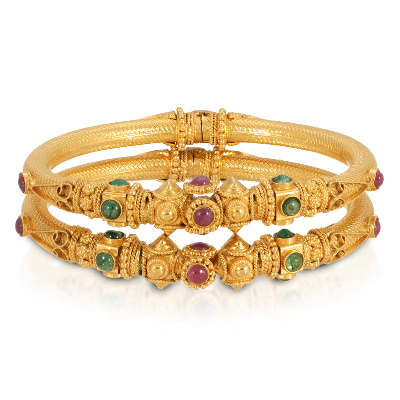 Estate Golden India Bracelets