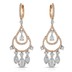 Rounded Chandelier Earring