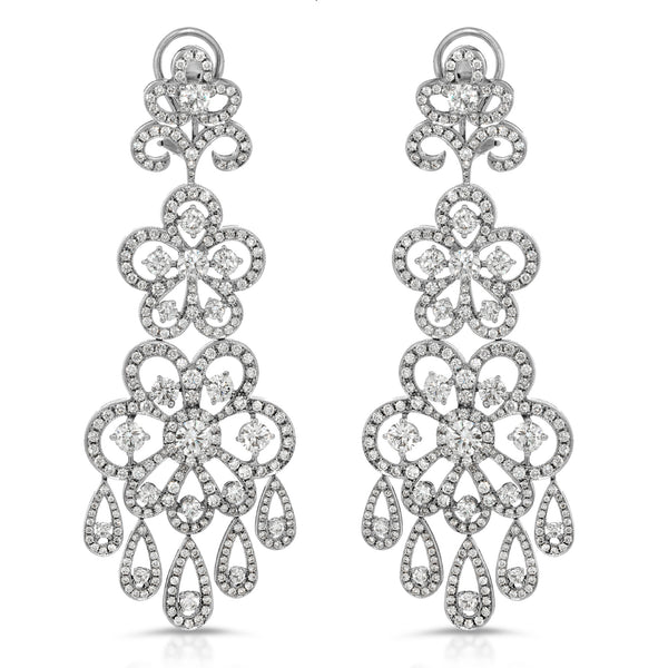 Blooming Chandelier Earring