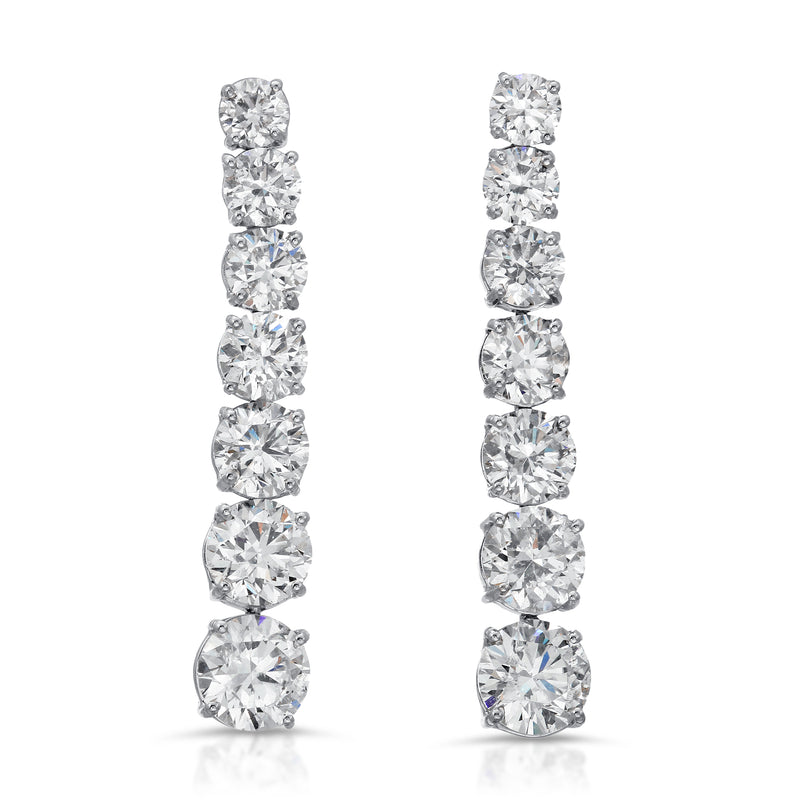 Graduating Diamond Earring