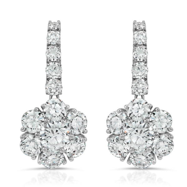 Blooming Diamond Earring