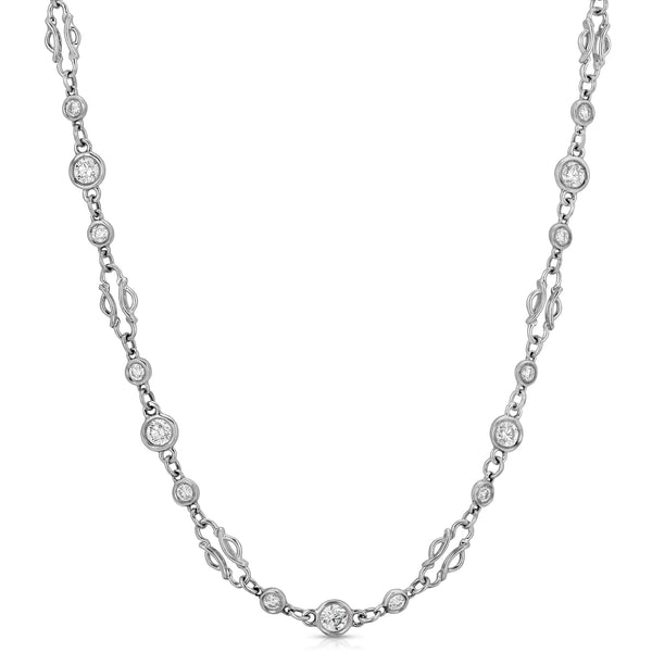 Hanger Diamond Necklace