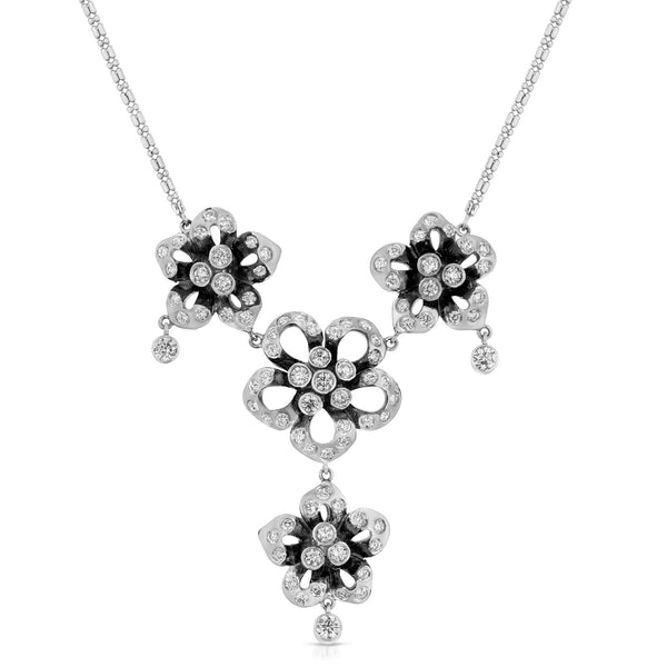 Four Flowers Necklace
