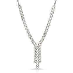 Four Strand Diamond Tennis Neckalce