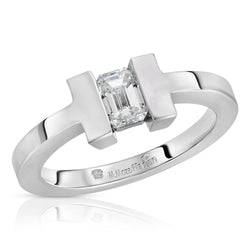 Modern Solitaire Ring