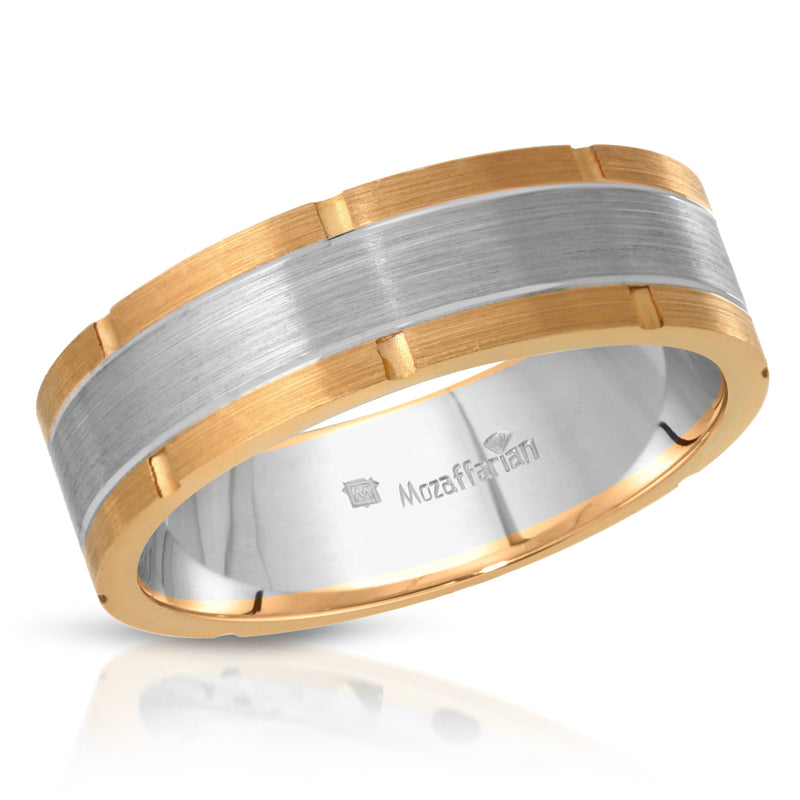 Men's Double Tone Band