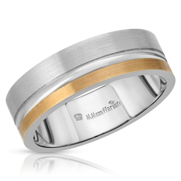 Men's Two Toned Ring