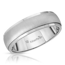 Satin Finish Men's Ring