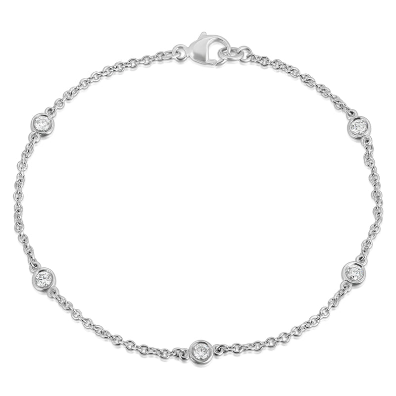 Diamond By The Yard Bracelet