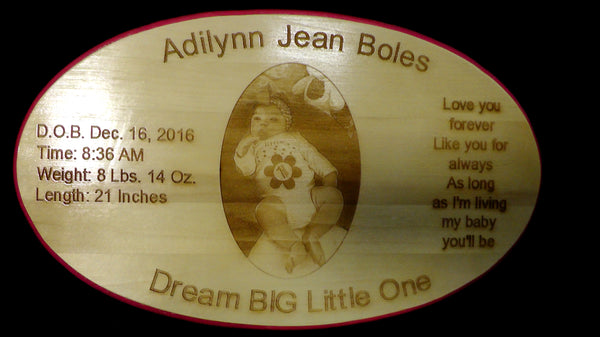 Baby Gift - Sign, Keepsake