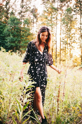 Long Star Dress