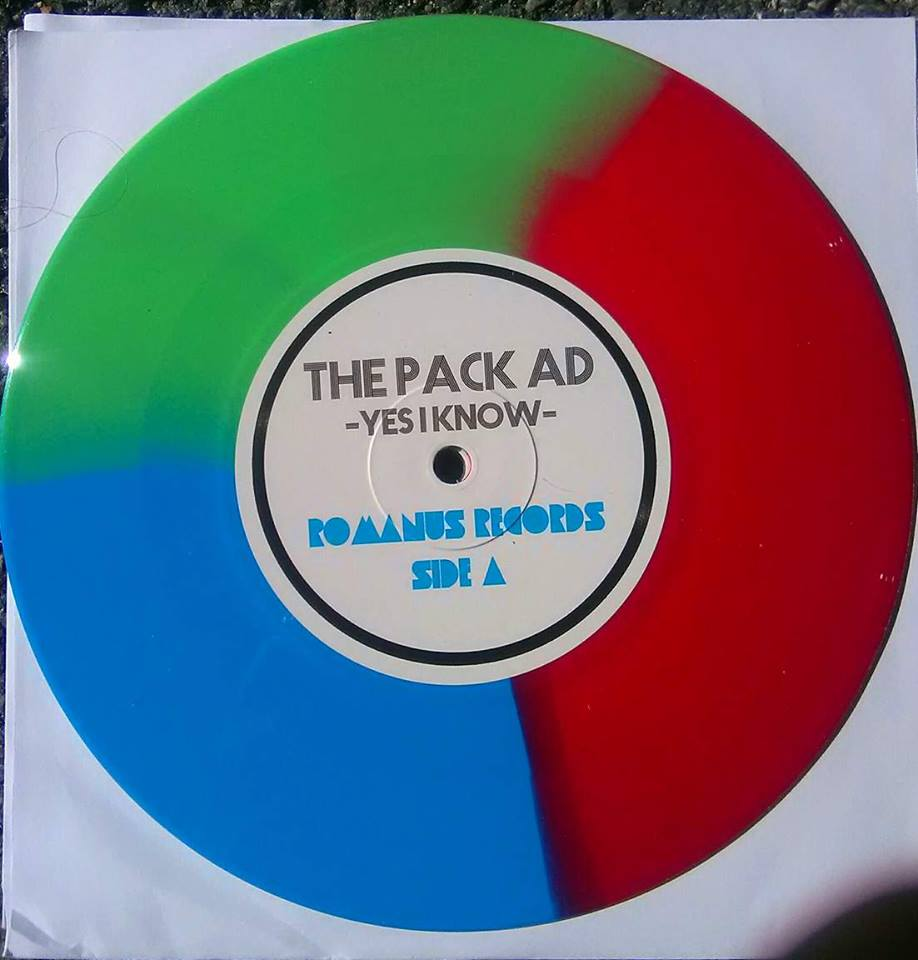 The Pack Ad (7 inch) Tri Color Wax /100