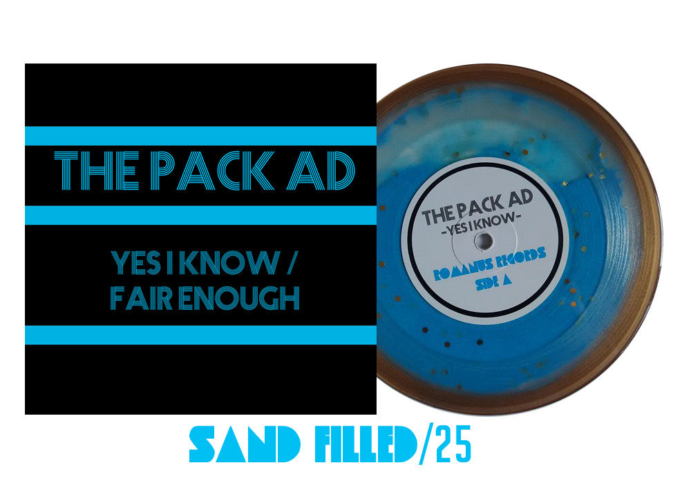 The Pack Ad - 7 Inch Sand Filled /25