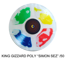 "Created KING GIZZARD & THE LIZARD WIZARD ""Polygondwanaland"" SIMON SEZ Liquid Filled /50 (LIMIT 2 PER ORDER SHIPS 7-10 WKS)"