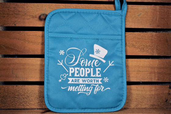 Funny Potholder - Some People Are Worth Melting For