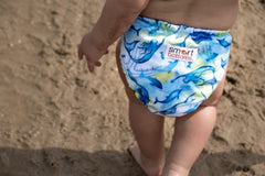 Sirens mermaids cloth diaper from Smart Bottoms