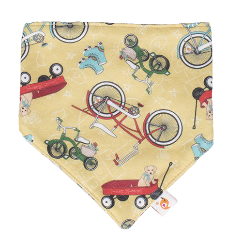 Bandana Bib - How We Roll - smartbottoms