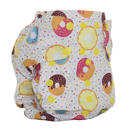 Smart Bottoms - Dream Diaper 2.0 cloth diaper - Sprinkles -  Donut cloth diaper  - organic cotton cloth diaper