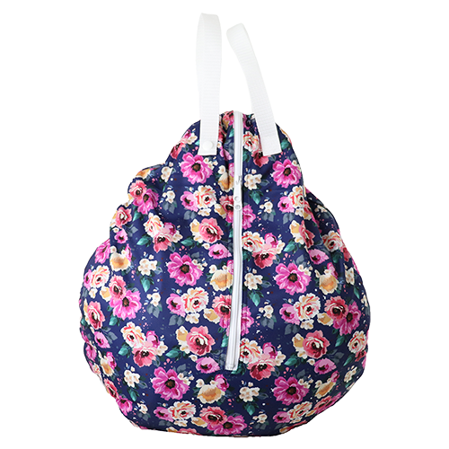 Smart Bottoms - Hanging Wet Bag - cloth diaper storage bag - waterproof cloth diaper bag - Petit Bouquet print - Floral print