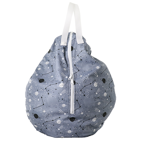 Smart Bottoms - Hanging Wet Bag - cloth diaper storage bag - waterproof cloth diaper bag - Apollo print