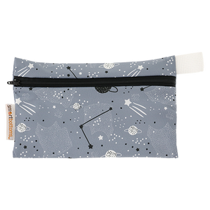smart bottoms - mini wet bag - Apollo - space print bag - waterproof bag