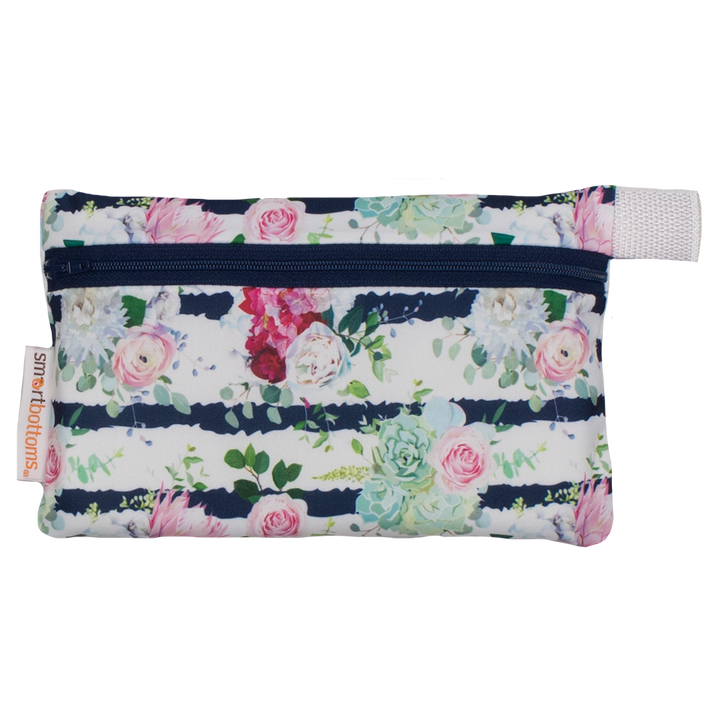 smart bottoms - mini wet bag - belle blossom