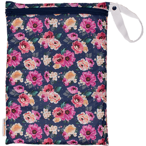 Smart Bottoms - On the Go Mesh Bag - Petit Bouquet floral print - cute mesh storage bag - reusable and washable mesh bag