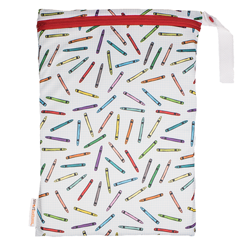 Mesh On-the-Go Bag - Crayons